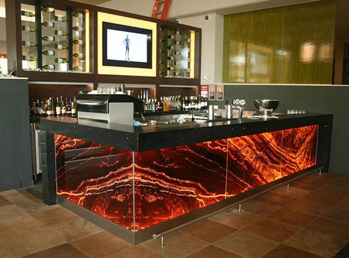 Thin Stone Panels | Backlit Onyx, Semi Precious